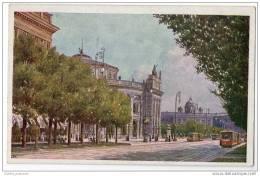 Austria - Wein - Burgtheater - Artist Illustrated - Austria