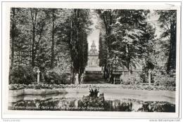 Germany - Potsdam Sanssouci Partie Im Park Mit Durchblick Zur Bildergalerie - Potsdam
