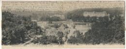Bagnoles De L´Orne Carte Panorama Le Grand Hotel Cachet Hexagonal 1904 Sur Semeuse Lignée Vers Mortrée - Bagnoles De L'Orne