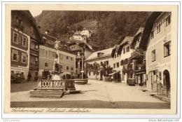 Austria - Hallstatt - Salzkammergut - Marktplatz - Unclassified