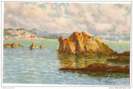 Rochers à Maldormé-Endoume, Corniche Marseille - Par Paul Dutscher - Other Illustrators