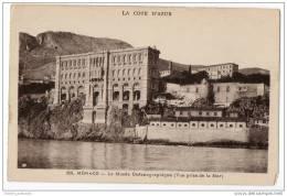 Monaco - Le Musee Oceanographique (Vue Prise De La Mer) - Monaco