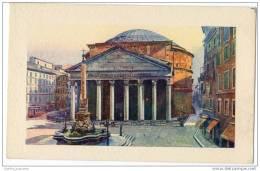 Italy - Roma - Il Pantheon - Artist Signed - Other Illustrators