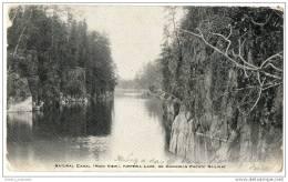 Canada - Ontario - Natural Canal, Kippewa Lake On Canadian Pacific Railway - Ontario