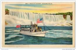 Maid Of The Mist - Niagra Falls - Linen Postcard - Niagara Falls