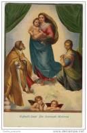 Dresden - Official Edition From The Royal Collection - Raffaello Santini - Die Sixtinische Madonna - Virgen Mary & Madonnas