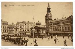 Belgium -Ostende - L'Hôtel De Ville Et Place D'Armes - Oostkamp