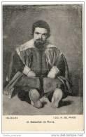 Sebastián De Morra  - Dwarf & Jester At The Court Of Philip IV Of Spain (Diego Velázquez ) - Spain