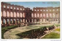 Croatia - Pola, Interno Dell Arena (1911) - Croatia