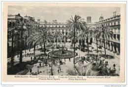 Spain  Barcelona - Plaza De Francisco Macia - 1930s - Barcelona