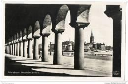Sweden - Pelargången, Stockholms Stadshus(Real Photo Card) - Sweden