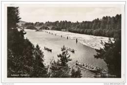 Sweden - Leksand - Kyrkbåtar - (Real Photo Card) - Sweden