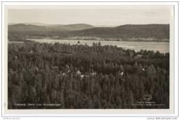 Sweden - Leksand -  Utsikt Från Käringberget - (Real Photo Card) - Sweden