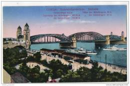 Coeln - Hohenzollernbrücke - Sudseite (Köln) - Koeln
