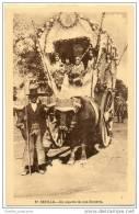 Sevilla - Un Aspecto De Una Romeria - Attelage De Boeufs - Romany Ox Drawn Cart - Sevilla