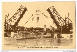 Sevilla - Entrada Del Buenos Aires Por El Puente De Tablada - Sevilla