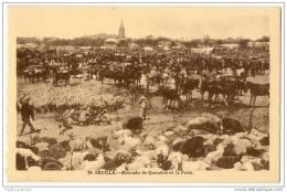 Sevilla - Mercado De Ganados En La Feria - Sevilla