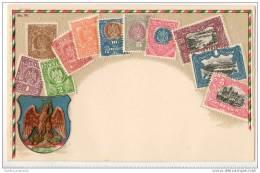 Republica Mexicana - Mexico - Tarjeta Postal - Stamps (pictures)