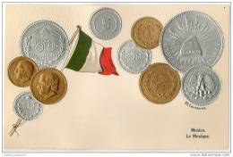 Republica Mexicana - Mexico - Embossed Coins - Munten (afbeeldingen)