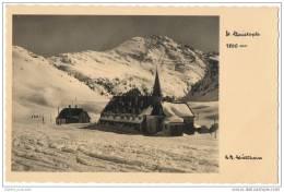 St. Christoph Am Arlberg - Hochalpiner Wintersportsplatz - Kirche Im Schnee - Austria