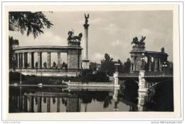 Budapest - Varosligeti To A Millenniumi Emlékjel - Lake In Town Park & Millennium Monument - Hungary