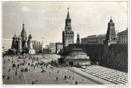 Moscow - Red Square(Real Photo Card) - Russia