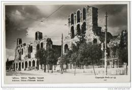 Athens - Odeon D'Herode Atticus - Real Photo Card (1933) - Greece