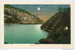 India - Nainital View - Panorama Of Lake & Mountain (circa 1930) - India