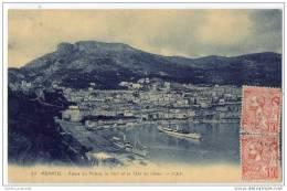 Monaco - Palais Du Prince, Le Port Et La Tete De Chien - Monaco