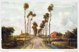 The Avenue, Middelharis, Holland - Meyndert Hobbema (London County Council Reward Card) - Illustrators & Photographers