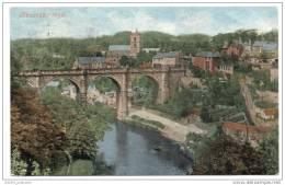 The River Nidd And Viaduct - Knaresborough - Harrogate - Yorkshire (1903) - England