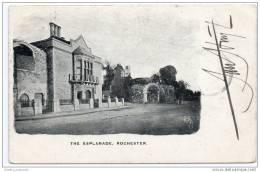 The Esplanade - Rochester - Kent  (1904) - Excellent Postmarks - Rochester