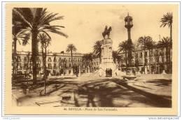 Sevilla - Plaza De San Fernando - Sevilla