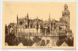 Sevilla - Vista General De La Catedral - Sevilla