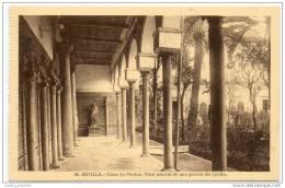 Sevilla - Casa De Pilatos, Vista Paracial De Una Galeria Del Jardin - Sevilla