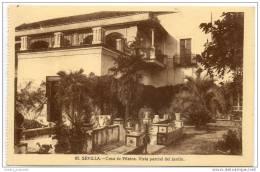 Sevilla - Casa De Pilatos, Vista Paracial Del Jardin - Sevilla