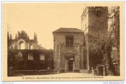 Sevilla - Real Alcazar - Uno De Los Torreones Y La Famosa Puerta De Marchena - Sevilla