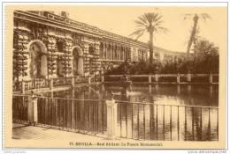 Sevilla - Real Alcazar - La Fuente Monumental - Sevilla