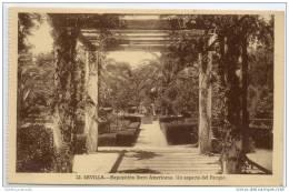 Sevilla - Catedral - Exposicion Ibero Americana - Un Aspecto Del Parque - Sevilla