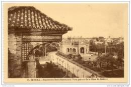 Sevilla - Catedral - Exposicion Ibero Americana - Vista Generale De La Plaza De America - Sevilla