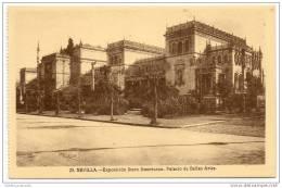 Sevilla -  Exposicion Ibero Americana - Palacio De Bellas Artes - Sevilla