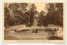 Sevilla - Exposicion Ibero Americana - Fuente De Las Ranas - Sevilla
