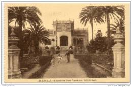 Sevilla - Exposicion Ibero Americana - Palacio Real - Sevilla