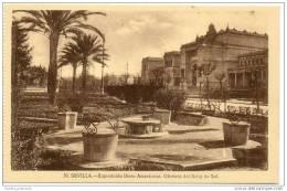 Sevilla - Exposicion Ibero Americana - Glorieta Del Reloj De Sol - Sevilla
