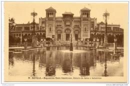 Sevilla - Exposicion Ibero Americana - Palacio De Artes E Industrias - Sevilla