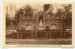 Sevilla - Exposicion Ibero Americana - Fuente De La Virgen De Los Reyes - Sevilla