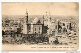 Cairo -  Le Caire - (1910) General View - Mosques Of Sultan Hassan & El Rifai - Cairo