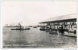 Ceylon (Sri Lanka) - Colombo Harbour And Landing Jetty - Sri Lanka (Ceylon)