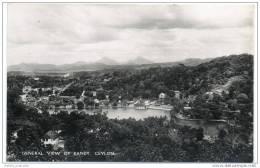Ceylon (Sri Lanka) - General Vue Of Kandy - Sri Lanka (Ceylon)