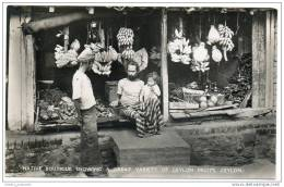 Ceylon (Sri Lanka) - Native Boutique Showing A Great Variety Of Ceylon Fruits - Sri Lanka (Ceylon)
